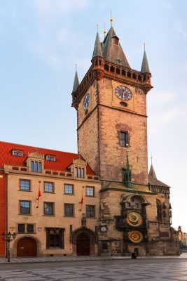 The Old Town Hall in Prague, Czechia