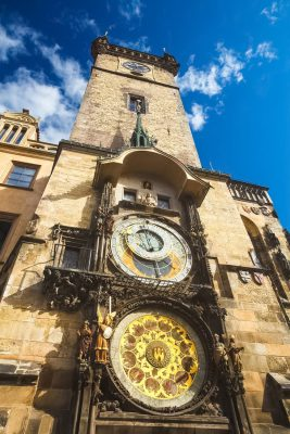 The Old Town Hall Tower with the Prague Astronomical Clock