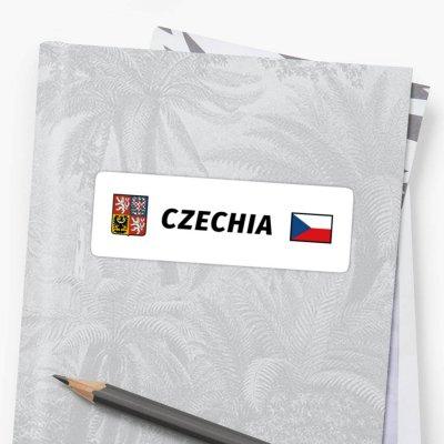 CZECHIA 001-EN - Sticker