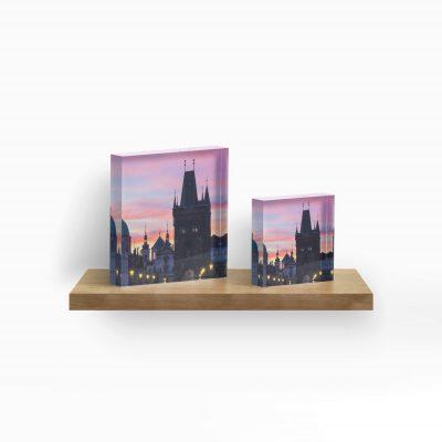 Acrylic Block - Prague 012 - Charles Bridge