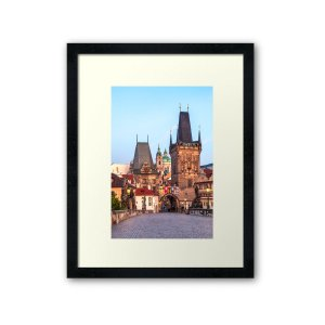 Prague 008 - Framed Print