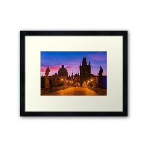 Framed Prints - Prague 009 - Charles Bridge