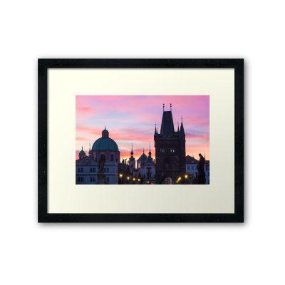 Framed Prints - Prague 012 - Charles Bridge