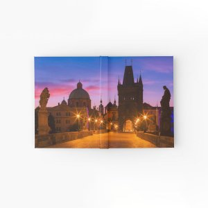 Hardcover Journals - Prague 009 - Charles Bridge