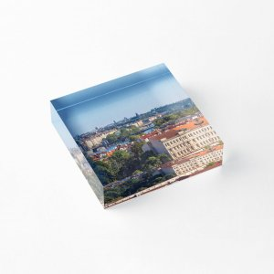 Prague 009 - The View from Opyš Hill - Acrylic Blocks