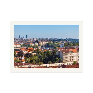 Prague 009 - The View from Opyš Hill - Art Prints