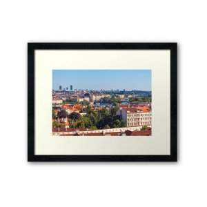 Prague 009 - The View from Opyš Hill - Framed Prints