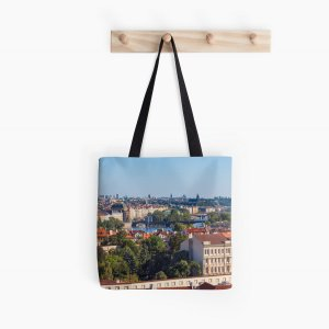 Prague 009 - The View from Opyš Hill - Tote Bags