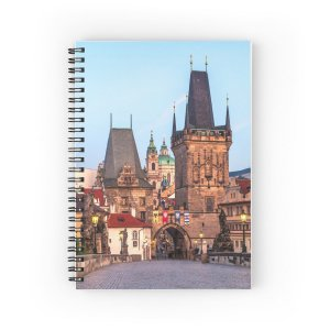 Prague 008 - Spiral Notebooks