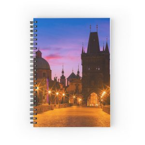 Spiral Notebooks - Prague 009 - Charles Bridge