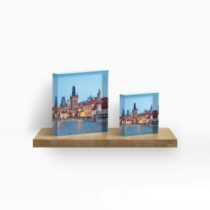 Acrylic Block - Prague 001 - Charles Bridge