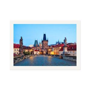 Art Prints - Framed Prints - Prague 001 - Charles Bridge