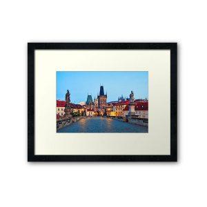 Framed Prints - Prague 001 - Charles Bridge