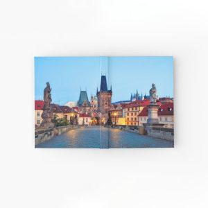 Prague 001 - Charles Bridge - Hardcover Journals