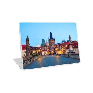 Prague 001 - Charles Bridge - Laptop Skins