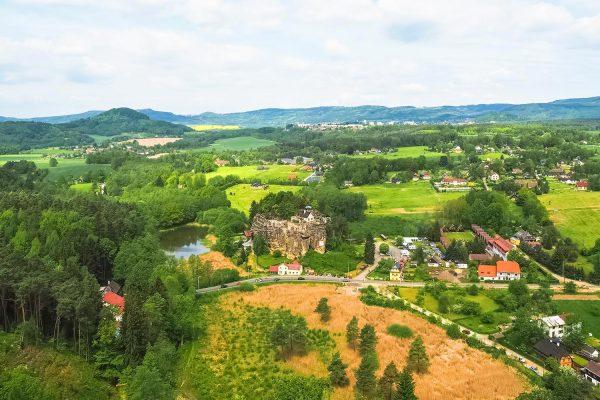 The View from Rozhledna Na Stráži, Sloup v Čechách
