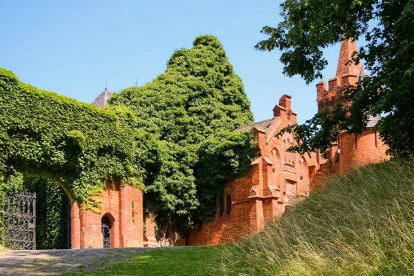 Hradec nad Moravicí Chateau - Red Chateau