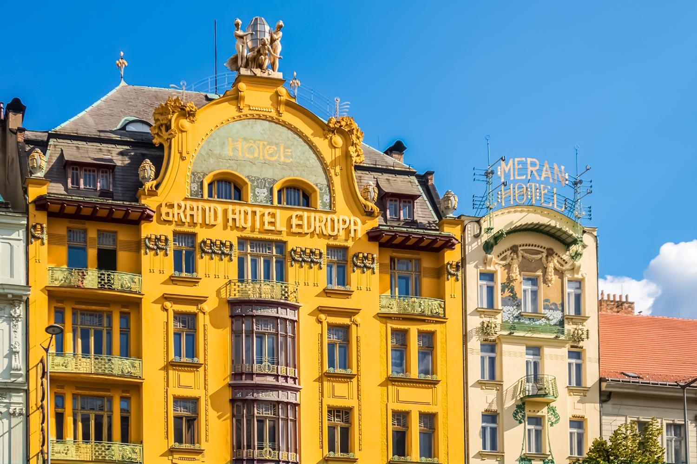 Wenceslas Square The Commercial Center Of Prague Amazing Czechia