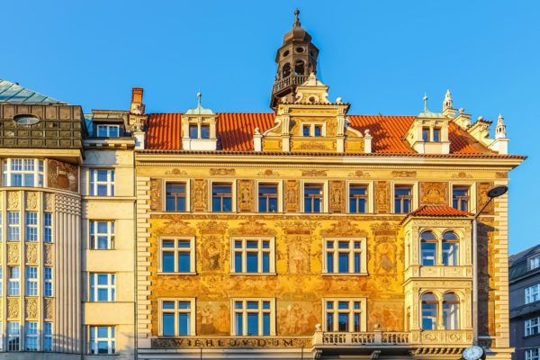 Wiehl's House, Wenceslas Square, Prague, Czechia