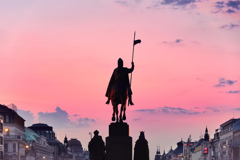 Wenceslas Square (Václavské náměstí) - Prague, Czechia
