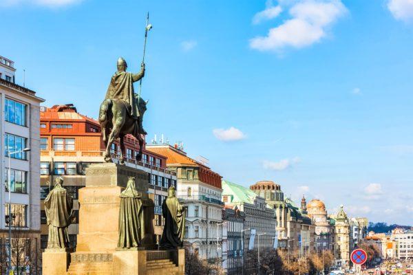Wenceslas Square (Václavské náměstí), Prague, Czechia