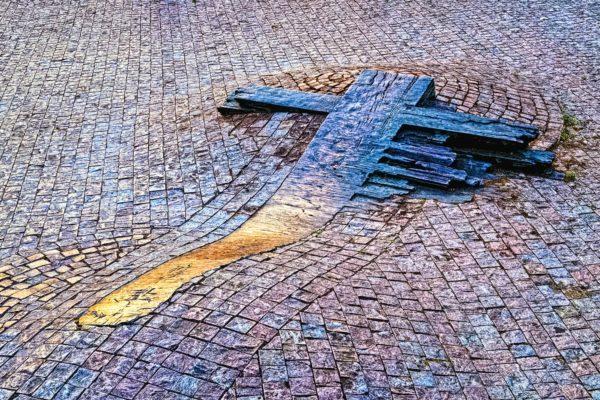 Memorial to Jan Palach and Jan Zajic, Wenceslas Square, Prague