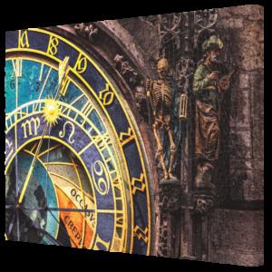 Canvas Prints - Prague 003A - Orloj