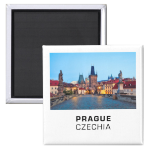 Fridge Magnets - Prague 001B - Charles Bridge