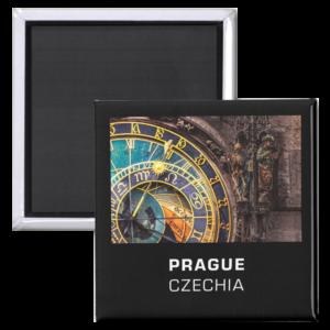 Fridge Magnets - Prague, Czechia - Detail of the Prague Astronomical Clock a.k.a. Orloj