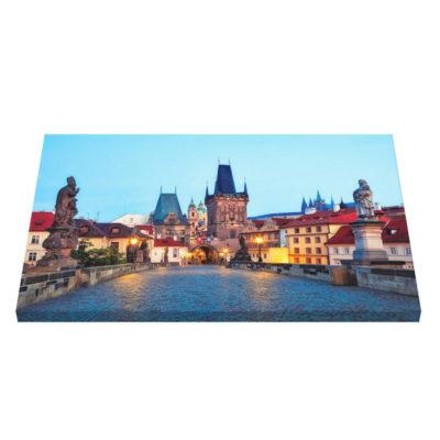 Canvas Prints - Prague 001A - Charles Bridge at Dawn