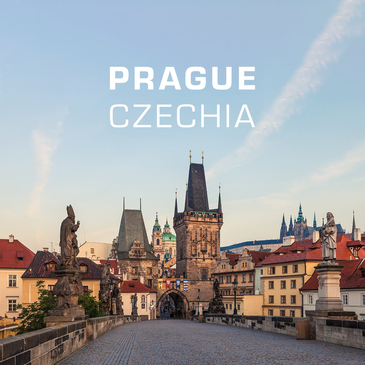 Pargue, Czechia - Charles Bridge at Sunrise