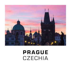 Prague, Czechia - Sunrise on Charles Bridge