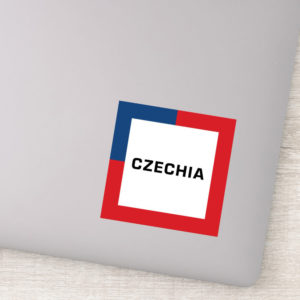 Stickers - Czechia 01A - Flag