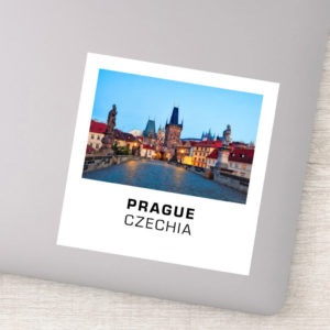 Stickers - Prague 001A - Charles Bridge Dawn