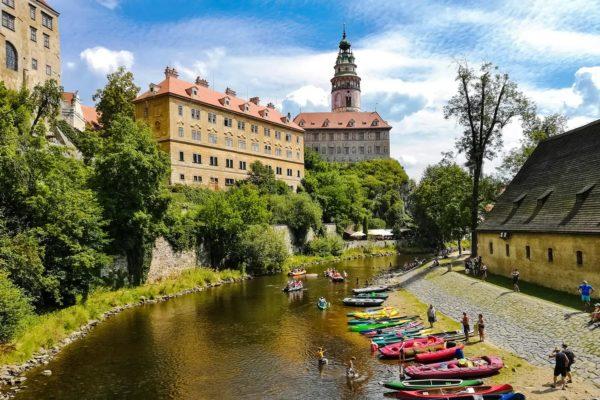 Český Krumlov Castle and the Vltava