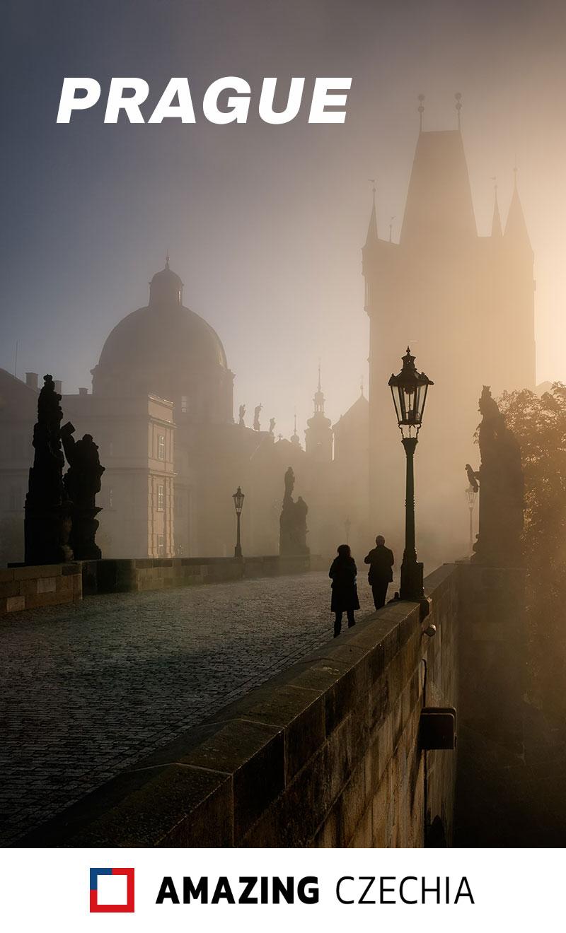 Charles Bridge at Sunrise, Prague, Czechia