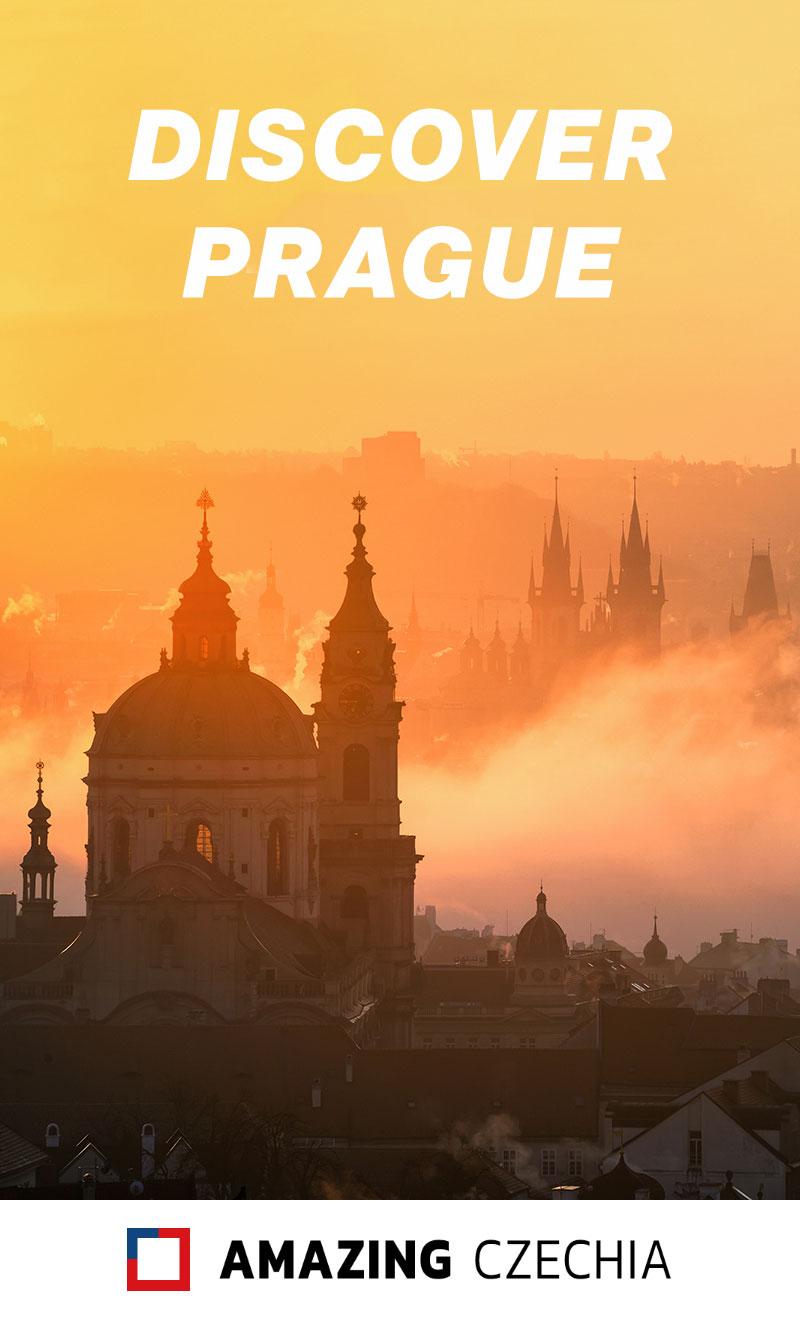 Prague Skyline at Sunrise, Czechia