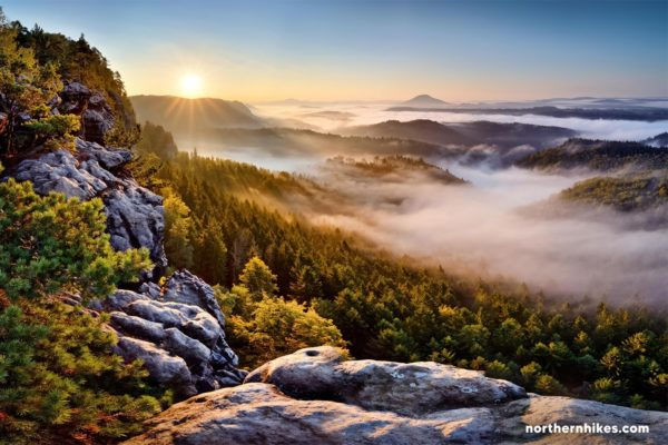 Day Trip from Prague to Bohemian & Saxon Switzerland