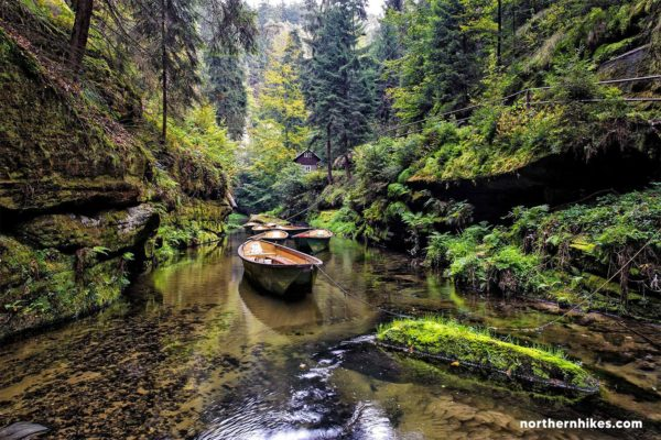 Day Trip from Prague to Bohemian Switzerland - Kamenice River