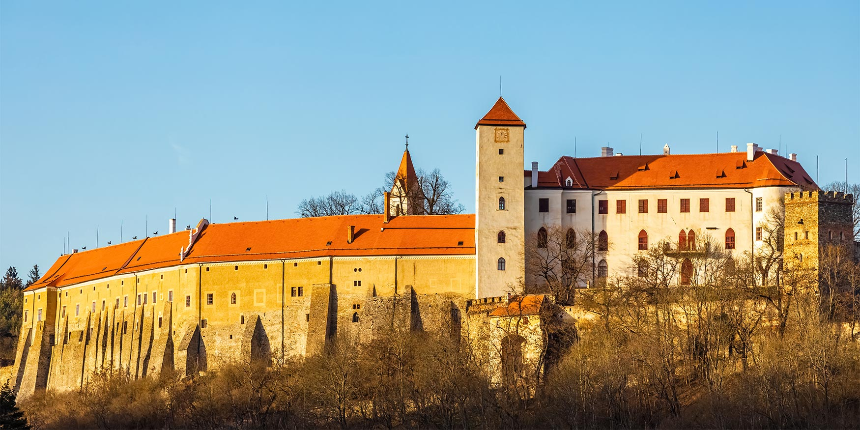 Bítov Castle, South Moravia, Czechia