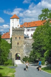 The Entrance Gate of Bítov Castle