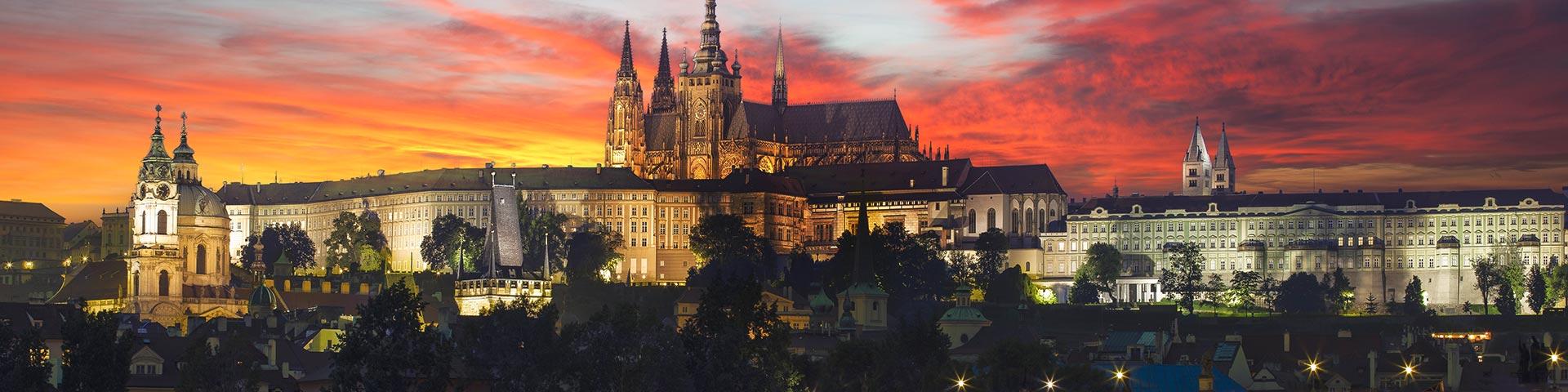 Prague Skyline, Czechia