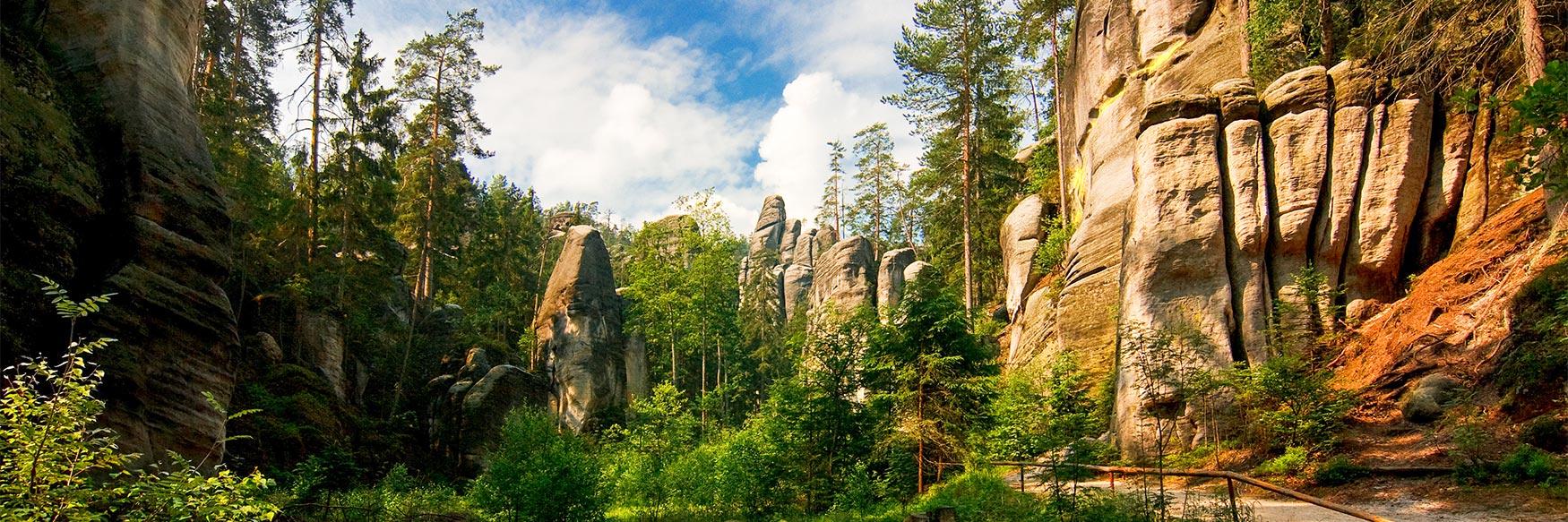 Adršpach-Teplice Rocks, Hradec Králové Region, Czechia