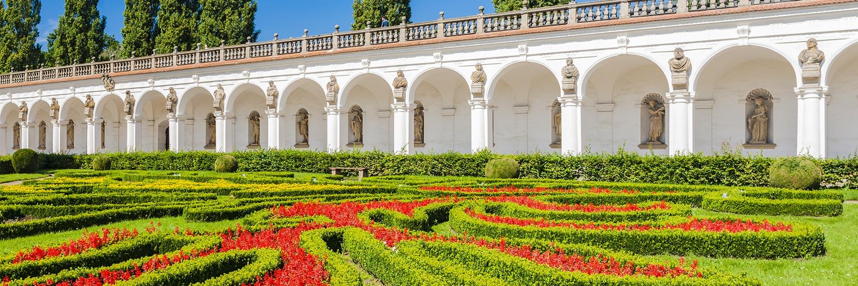Flower Garden, Kromeriz Palace, Moravia, Czechia