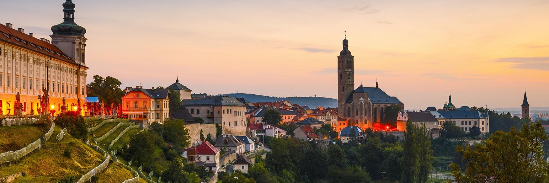 Kutná Hora Skyline, Central Bohemia, Czechia
