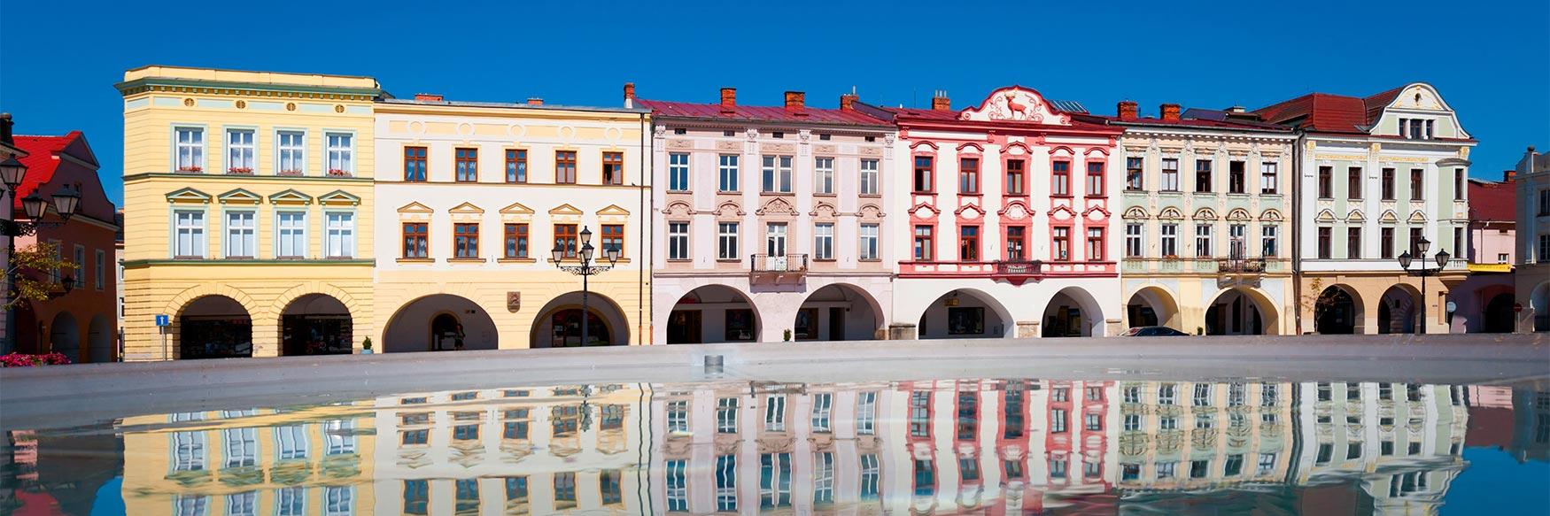 The Town of Nový Jičín, Czechia