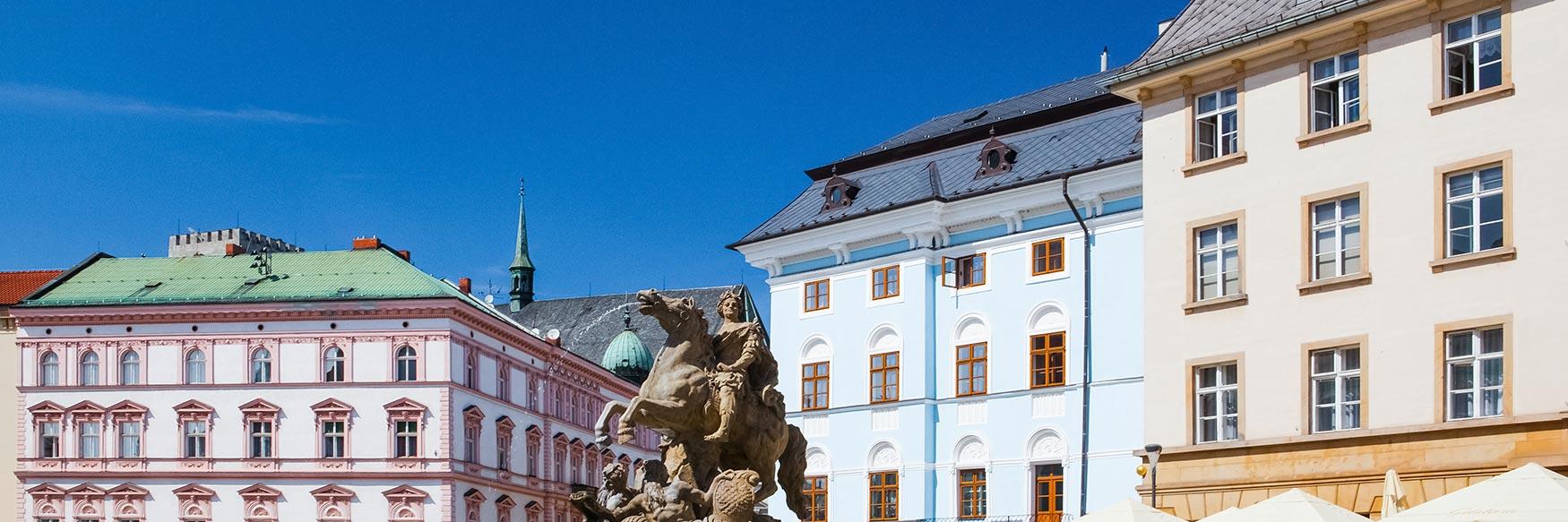 Dolní naměstí, Olomouc, Moravia, Czechia