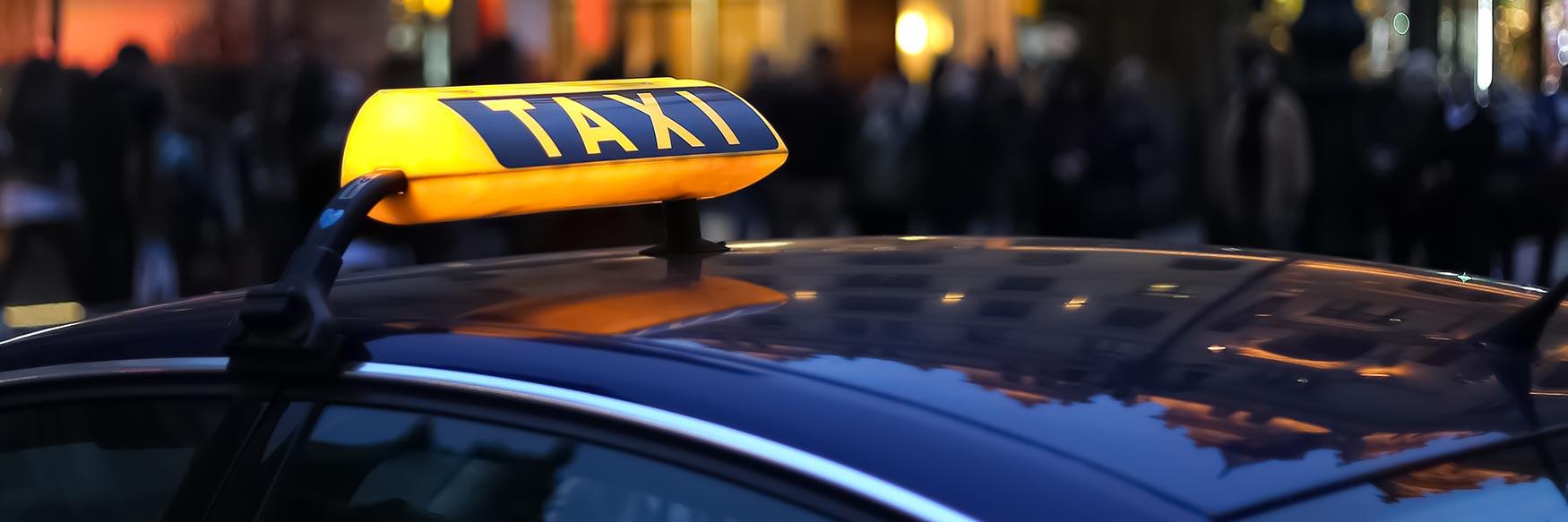 Taxi in Prague, Czechia
