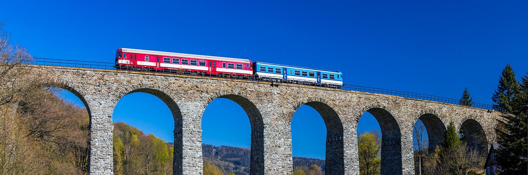 Train Travel in Czechia