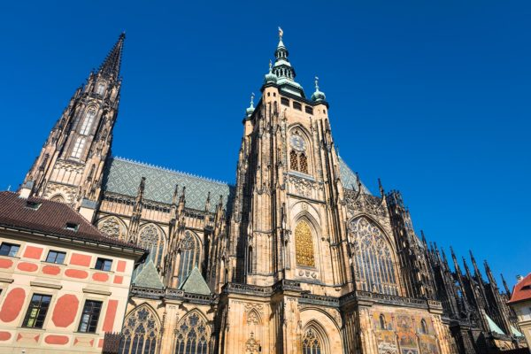 St Vitus Cathedral, Prague, Czechia